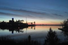 Sonnenaufgang nach dem Training